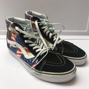 e40f385dabad5e Vans eagle American flag